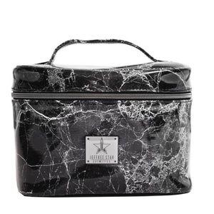 Jeffrey Star ⭐️ Black Marble travel bag NWT